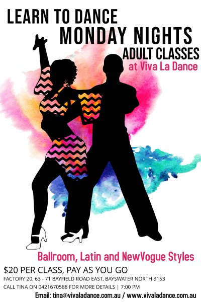 NEW - ADULTS CLASSES
